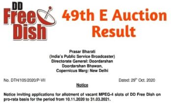 49th e auction result