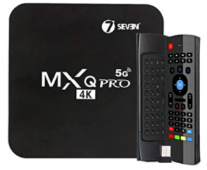 SEVEN MXQ PRO ANDROID TV BOX